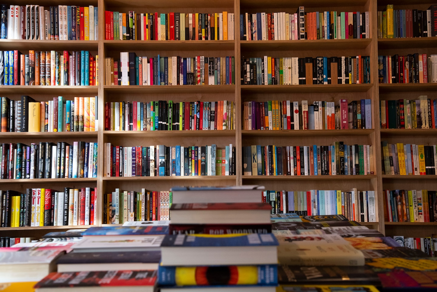 Bookstore browsing is a thrill no algorithm can match