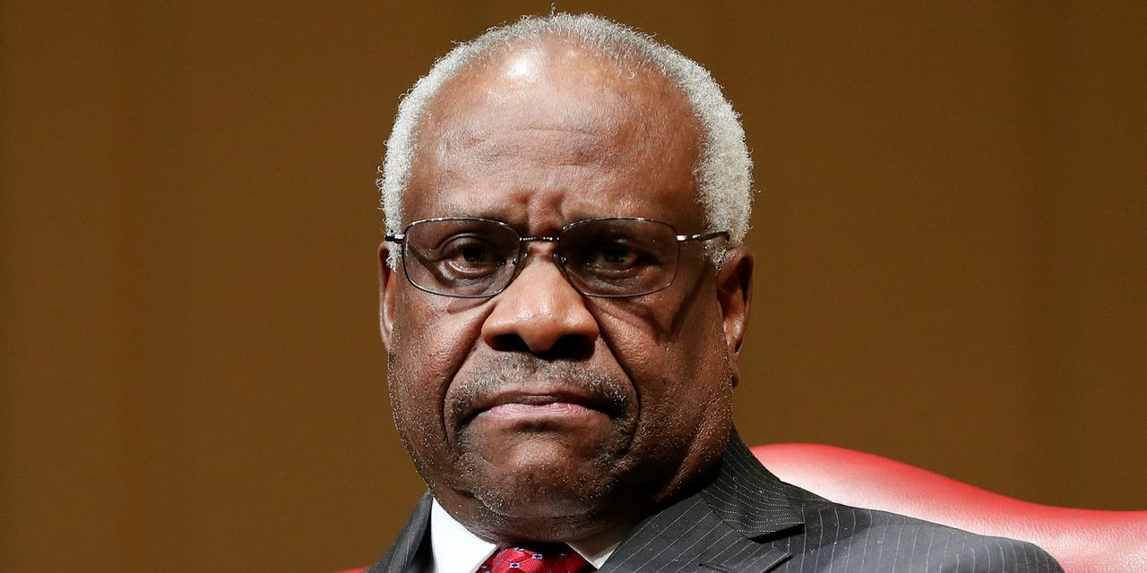 Hating Clarence Thomas – WSJ