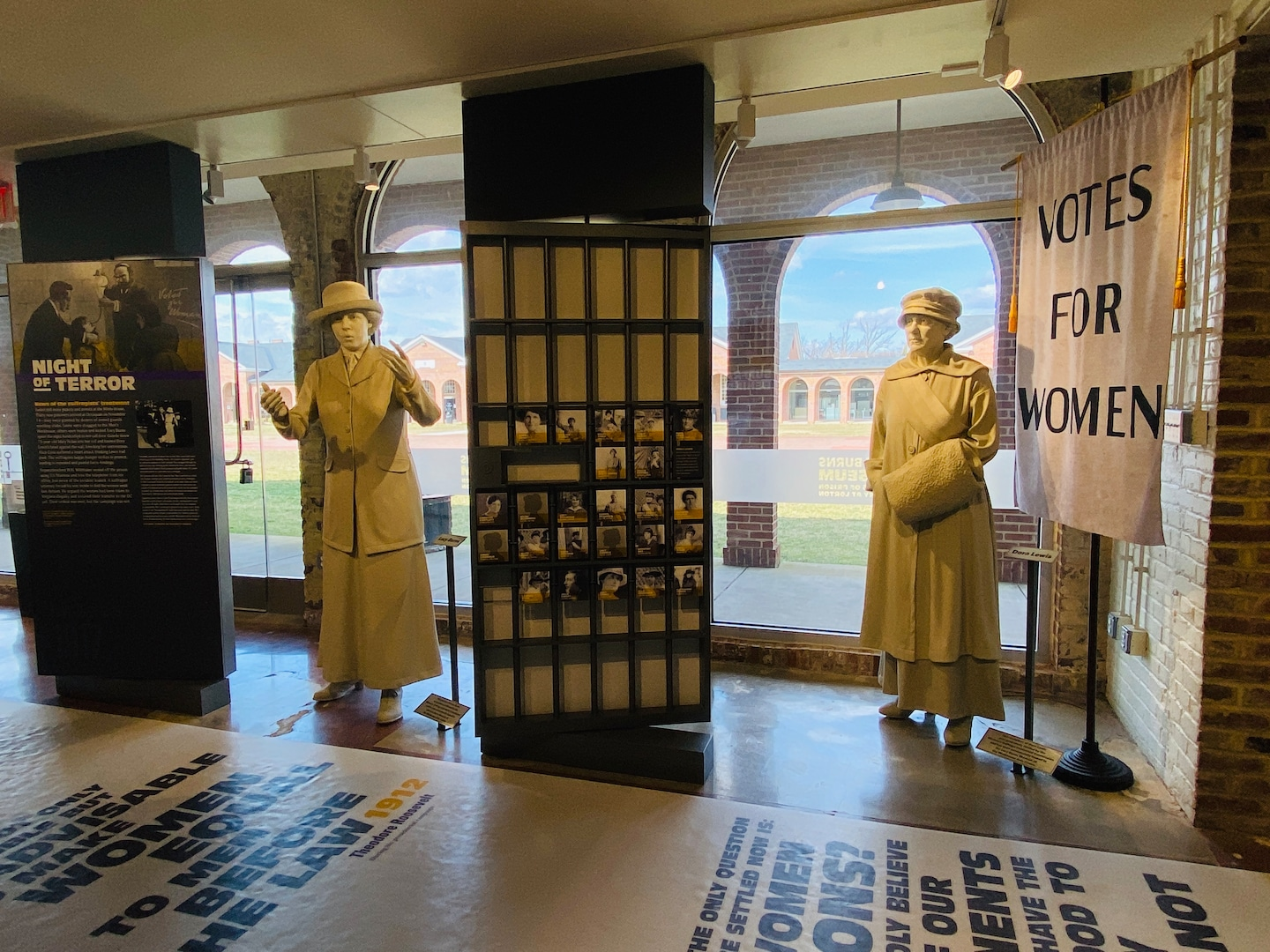 The Lucy Burns Museum honors the 100th anniversary of women's suffrage and the 19th Amendment