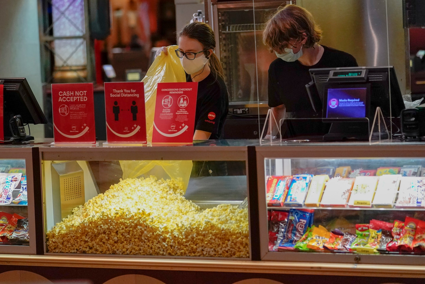 As movie theaters reopen nationwide, some employees are reluctant to return: 'They really are putting money above people's lives'