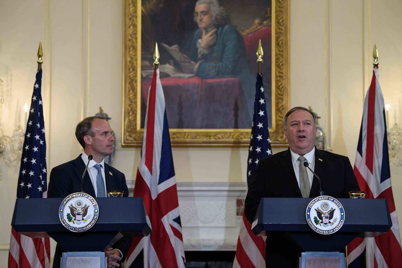 Brexit drama comes to Washington