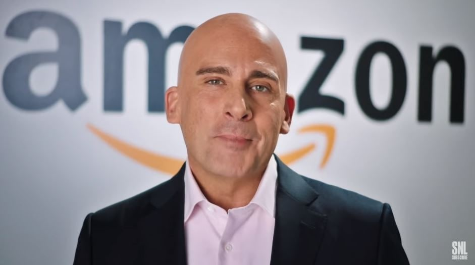 SNL: Steve Carell jokes that Amazon's new HQ2 locations are Jeff Bezos trolling Trump