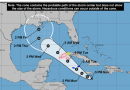 Forecasters warn potential tropical cyclone could become hurricane