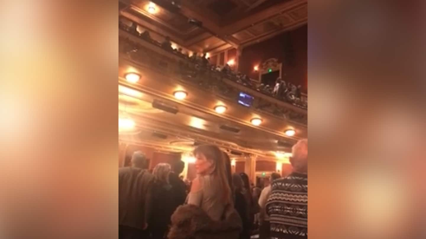 'Heil Hitler' and 'Heil Trump' shouts erupt during 'Fiddler on the Roof' in Baltimore