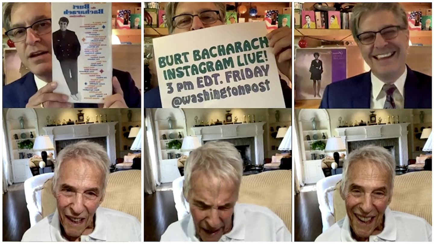 Q&A with Burt Bacharach: How the 92-year-old composer has kept working during the pandemic