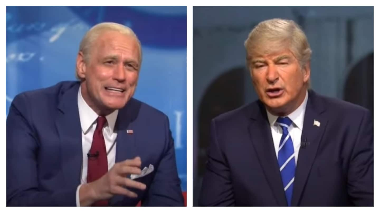 SNL cold open mocks Biden and Trump town halls: 'A Hallmark movie and an alien autopsy'