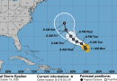 Tropical Storm Epsilon develops in Atlantic, could become hurricane