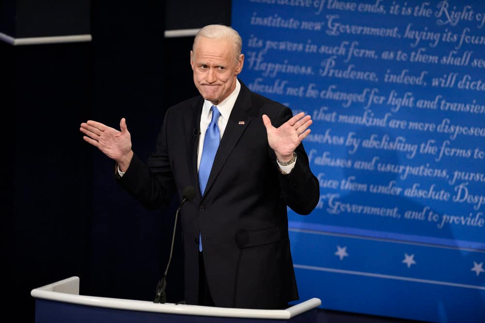 Why Jim Carrey's Biden impersonation on SNL isn't quite catching on