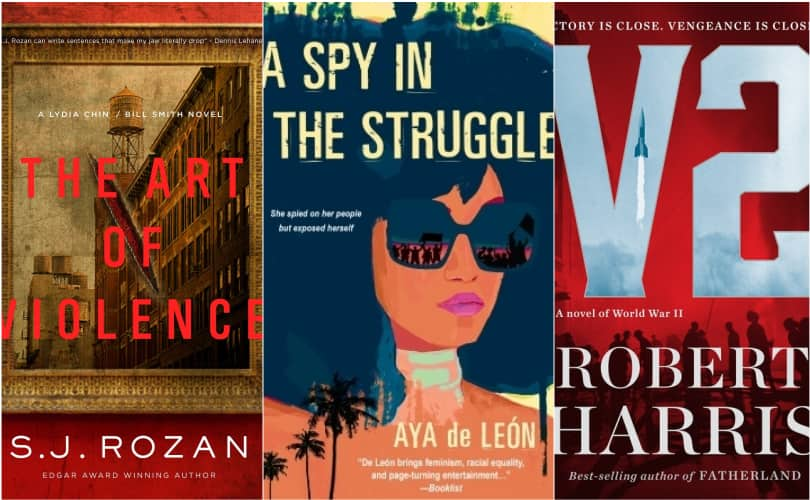 Best new thriller books this month