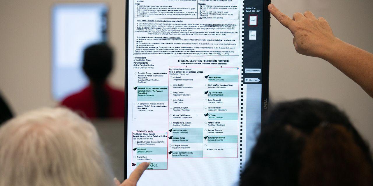 Georgia's Reassuring Vote Recount – WSJ