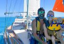 He quit to sail the world for his YouTube Sailing SV Delos channel.