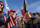 Trump supporters flock to state capitols Saturday