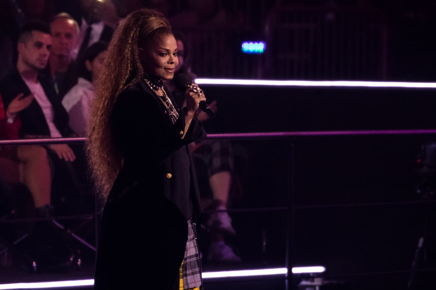 At MTV EMAs, Janet Jackson speaks out for 'stifled' female voices: 'I am one of those women'