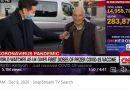 British grandfather Martin Kenyon in CNN interview gets COVID vaccine