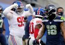Giants Outmuscle Seahawks in Season's Biggest Upset