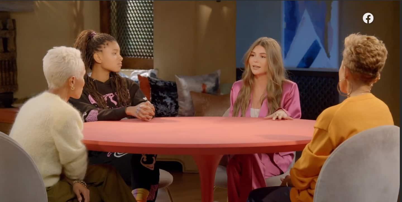 Olivia Jade on 'Red Table Talk' talks college admissions scandal, Lori Loughlin jail time