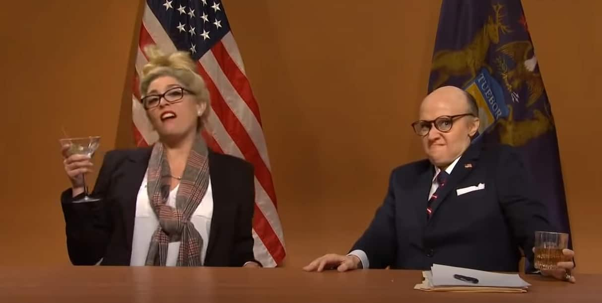 SNL skewers Rudy Giuliani and Trump on ballots; gives Morgan Wallen a second chance