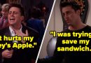 """37 Hilarious Joey Moments From """"Friends"""""""