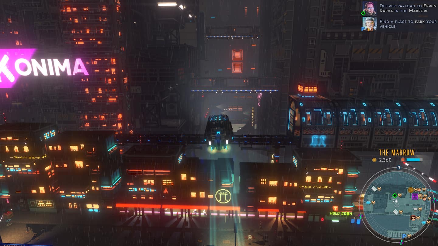 Cloudpunk video game review: Exploited future workers of the world unite