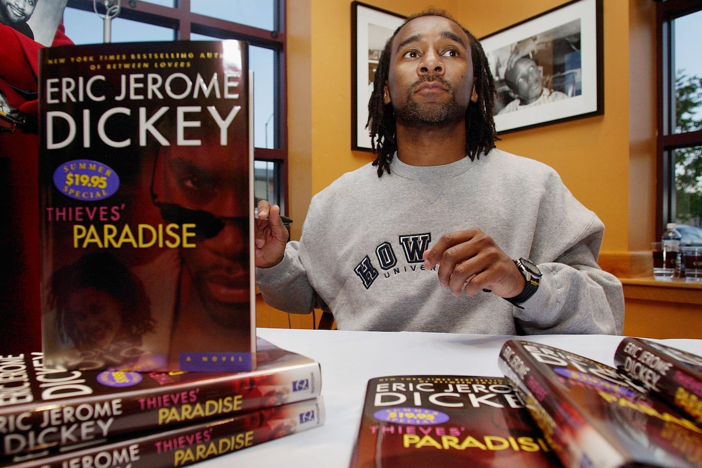Eric Jerome Dickey, best-selling African American novelist, dies at 59