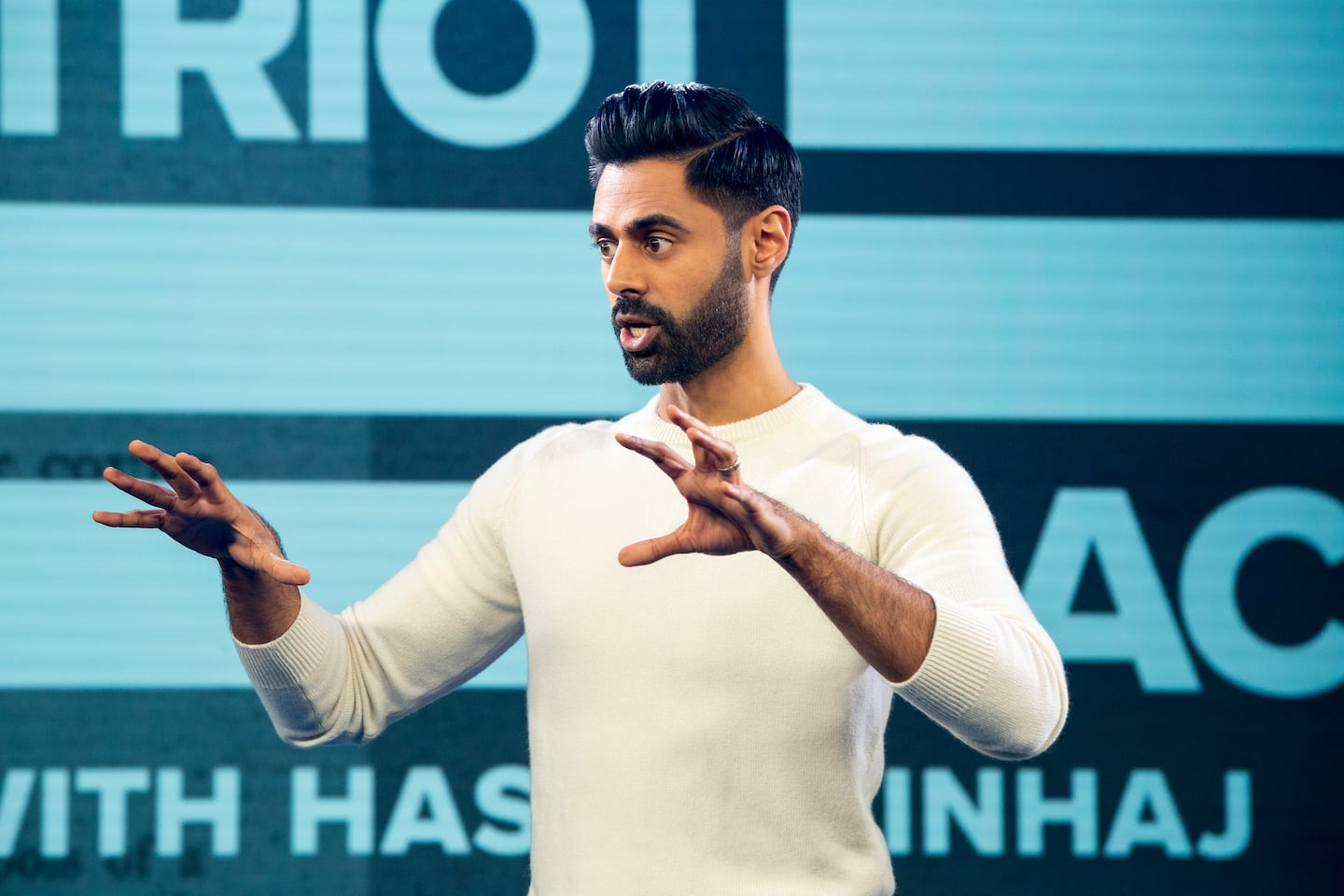 How Hasan Minhaj's Netflix show 'Patriot Act' is different from other comedy shows