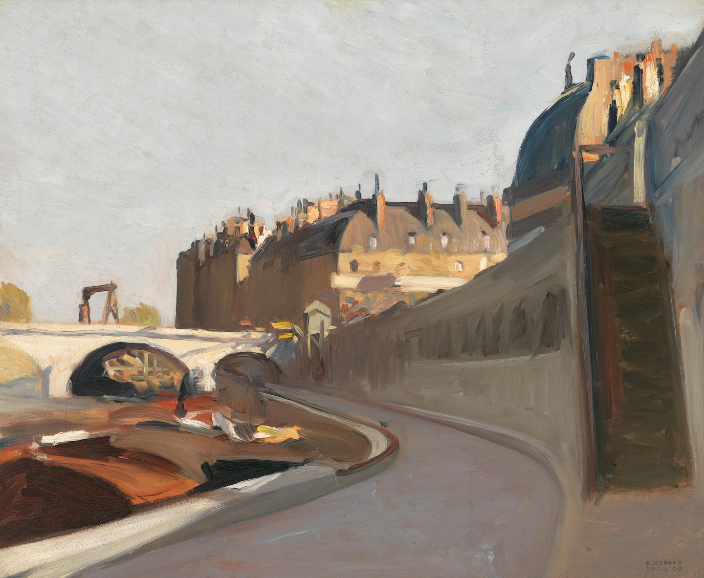 In Hopper's early Paris paintings, reflections of today's strange, desolate cities