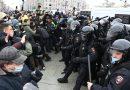 Protests across Russia demand the release of Putin foe Alexei Navalny