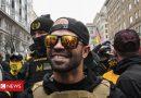 Proud Boys leader 'held for burning Black Lives Matter flag'