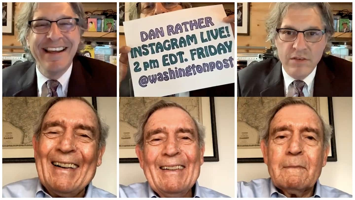 Q&A with Dan Rather: Tweeting, moving away from 'just the facts,' and idealism in journalism
