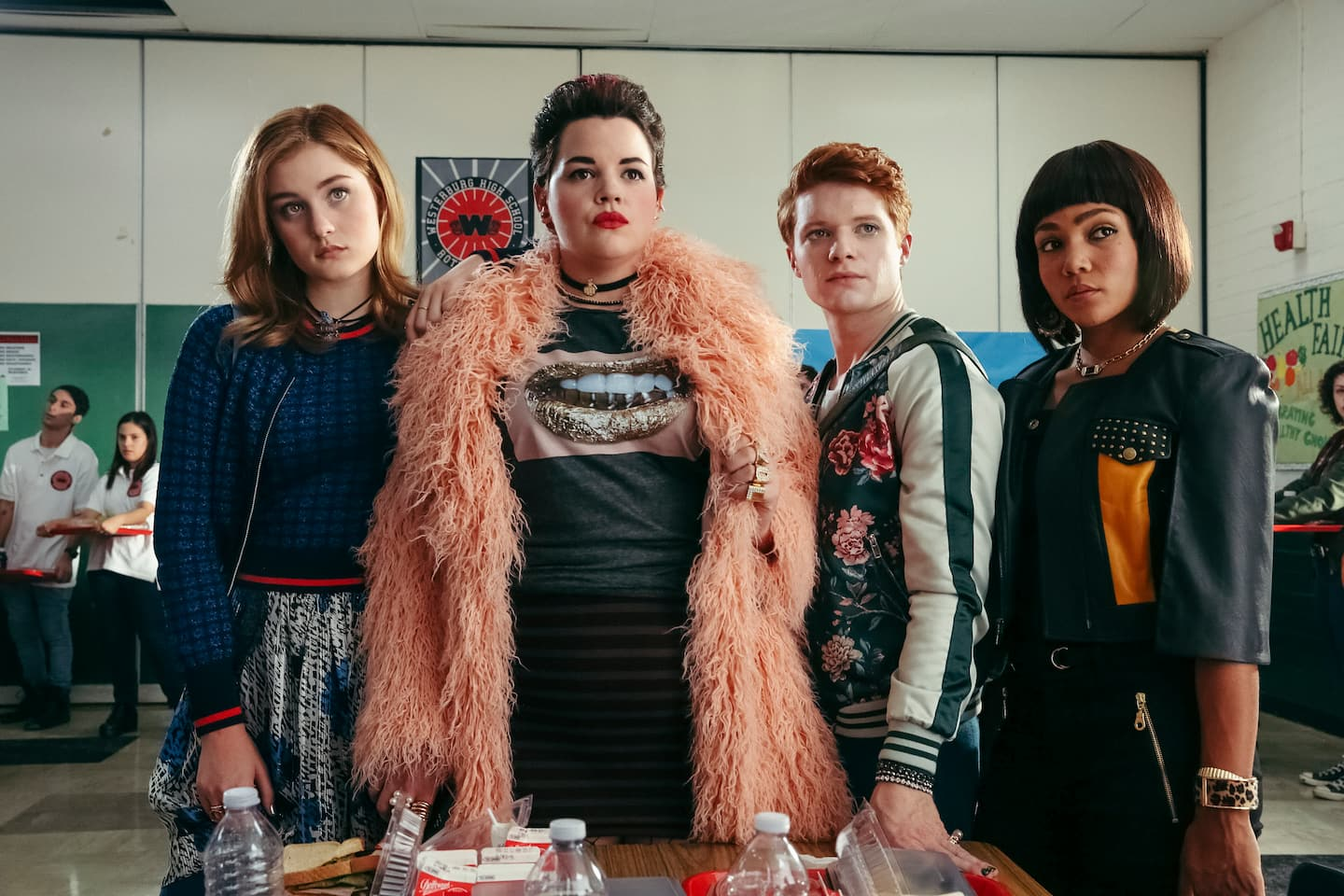 The troubled journey of 'Heathers,' the TV reboot repeatedly postponed in the wake of mass shootings
