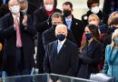 TV marked Joe Biden's inauguration with familiar, comforting images