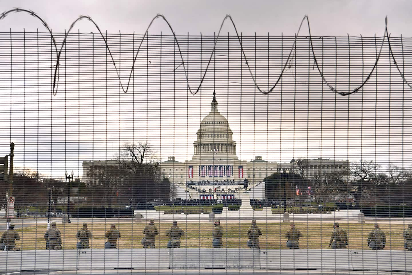 Capitol fencing won't help stop right-wing militias from attacking