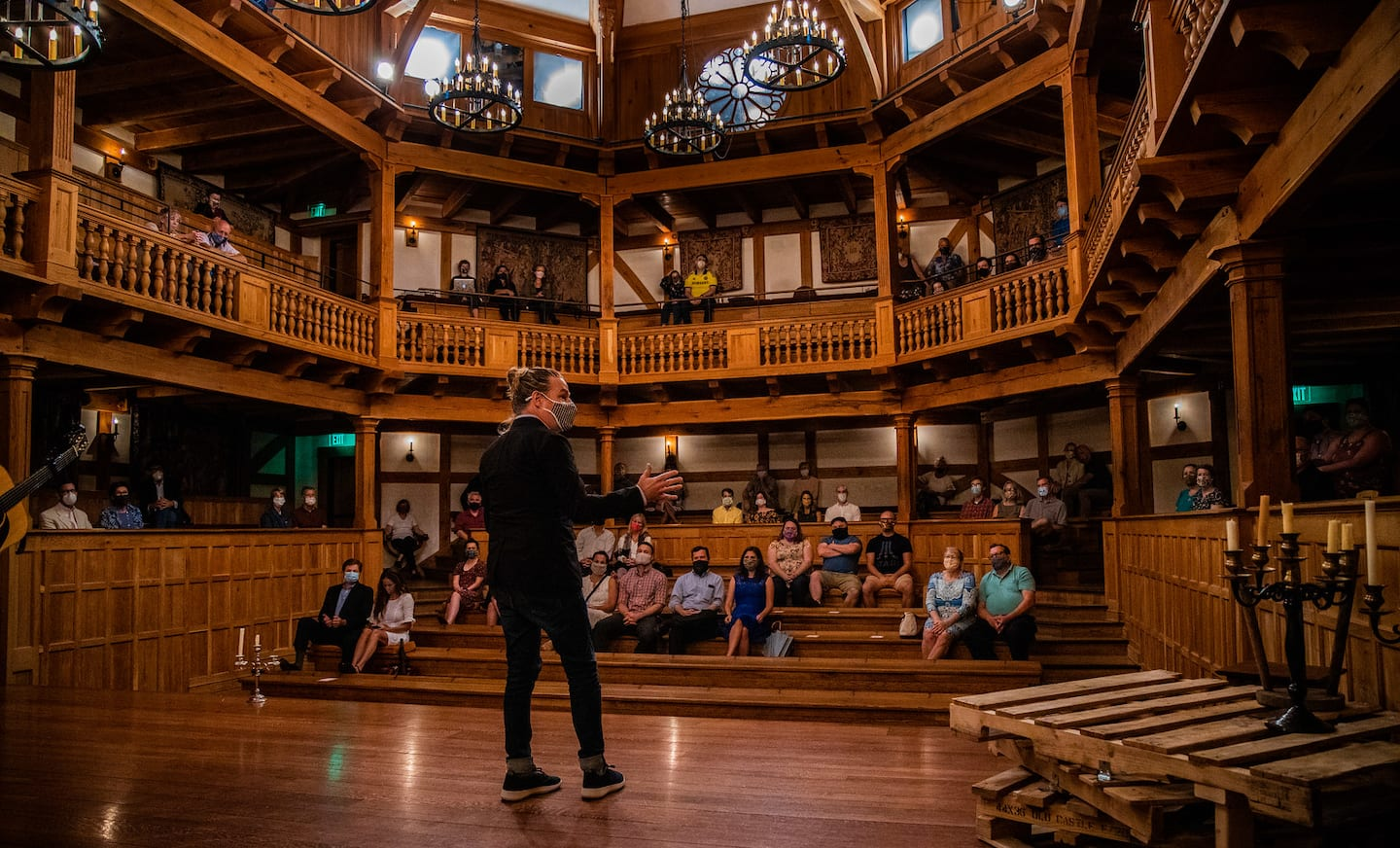Ethan McSweeny resigns as head of American Shakespeare Center in Stauton, Va.