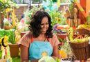Michelle Obama (and a pair of puppets) will cook for children on Netflix.