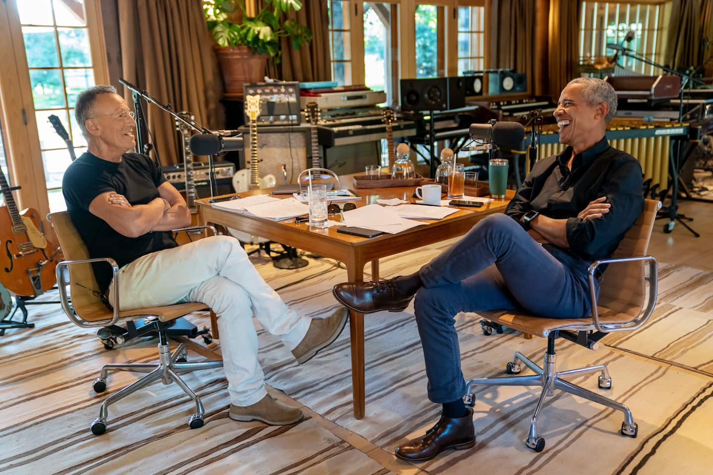 Obama and Bruce Springsteen release joint Spotify podcast
