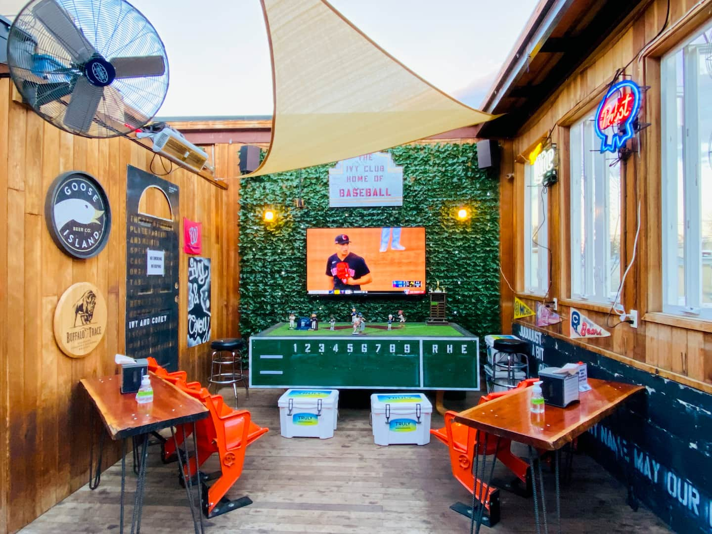 D.C. sports bars with outdoor TVs, patios and room for social distancing