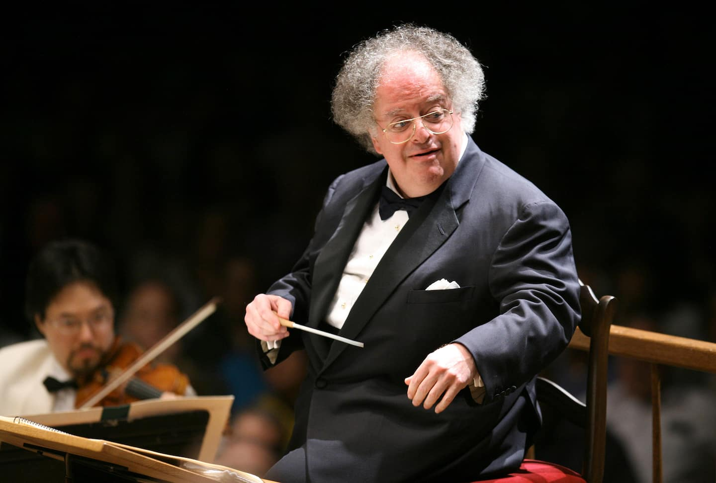James Levine, acclaimed Metropolitan Opera conductor who faced abuse allegations, dies at 77