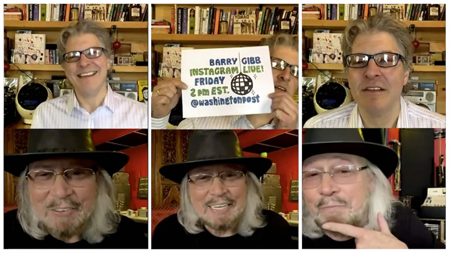 Why Barry Gibb can't watch the Bee Gees documentary
