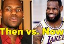 """""""Then Vs. Now"""" Photos Of Famous Athletes"""