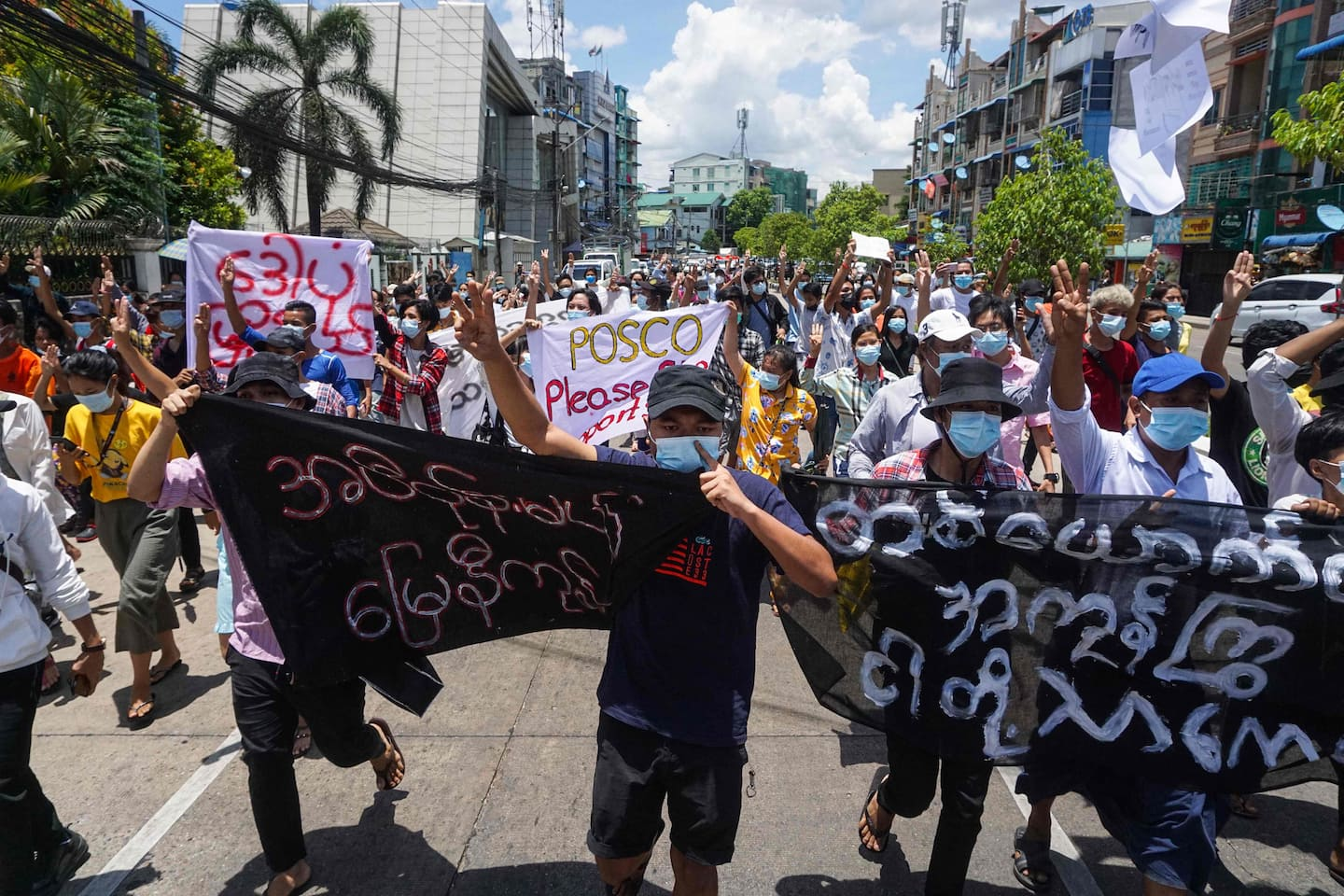 100 days after the coup in Myanmar, the battle for control of the country continues