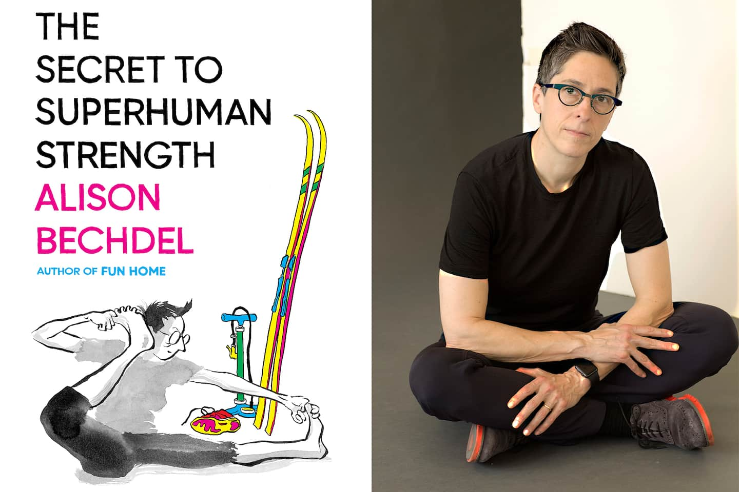 Alison Bechdel thought she was writing a book about exercise. It became a metaphysical adventure.