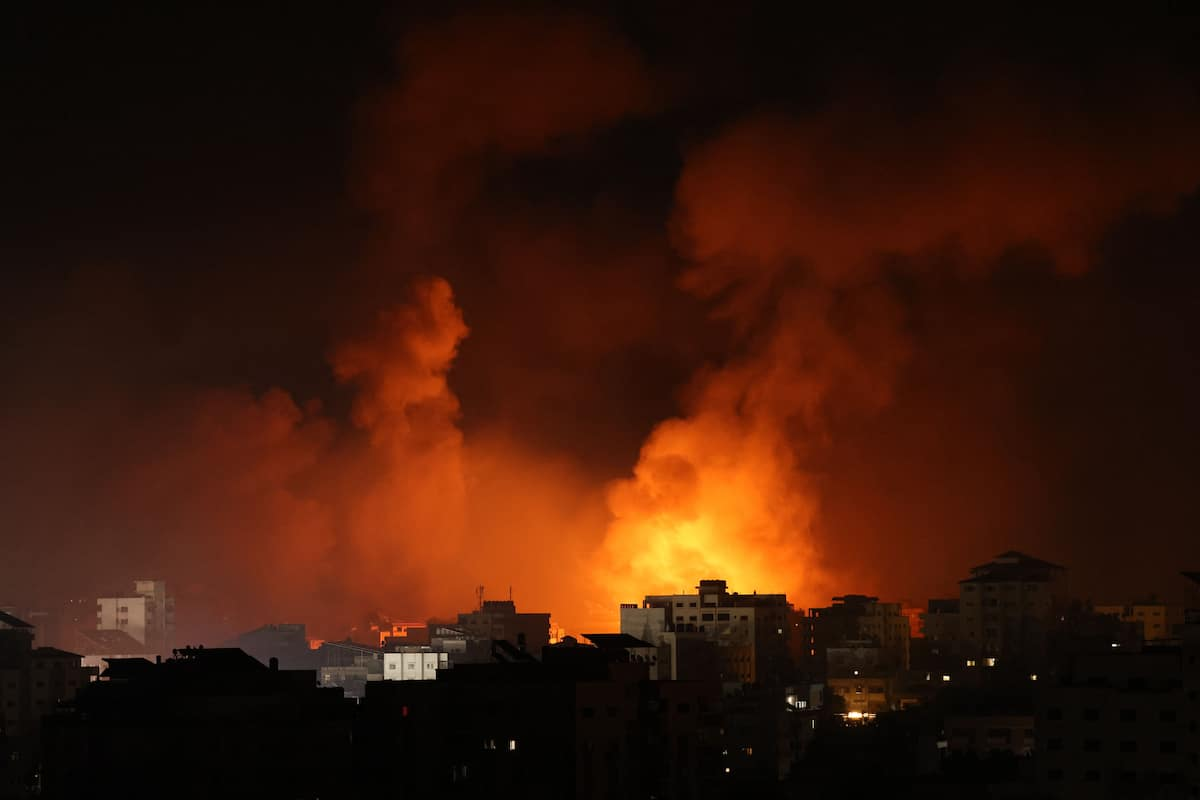 Life in Gaza: The sounds of war on the most intense night of bombardments
