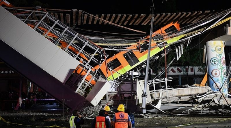 Mexico City Subway Collapse Kills At Least 20