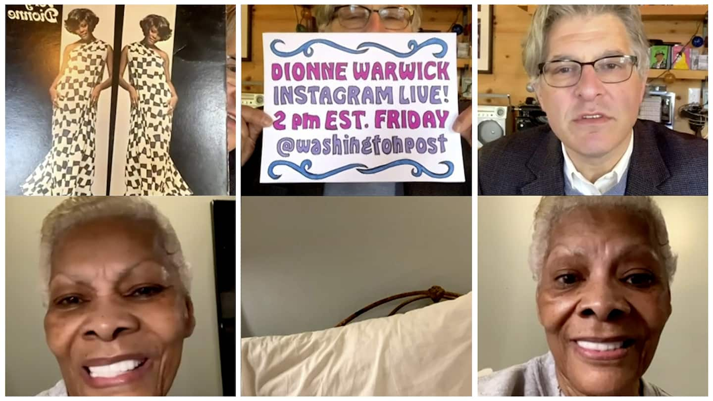 Q&A with Dionne Warwick: Why she went on Twitter, prepping for her Mother's Day show and the Luther Vandross cover of her song