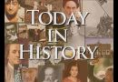 Today in History, May 3rd